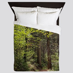 Forest Trail Queen Duvet