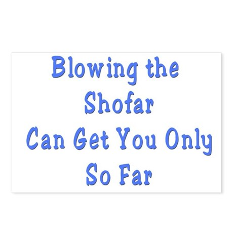 Blowing the Shofar Postcards (Package of 8)
