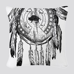 Dream Catcher Woven Throw Pillow
