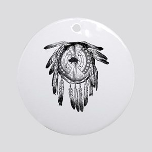 Dream Catcher Round Ornament