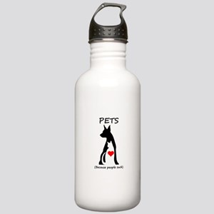 Pets-People Suck Stainless Water Bottle 1.0L