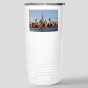 New York City Skyline Stainless Steel Travel Mug