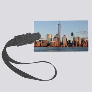 New York City Skyline Large Luggage Tag