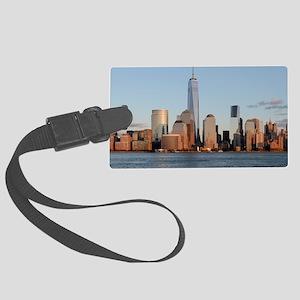 New York City Skyline Large Luggage Tag