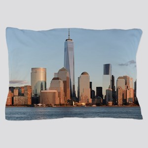 New York City Skyline Pillow Case