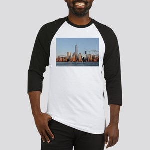Lower Manhattan Skyline, New York Baseball Jersey