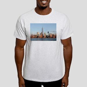 Lower Manhattan Skyline, New York City T-Shirt