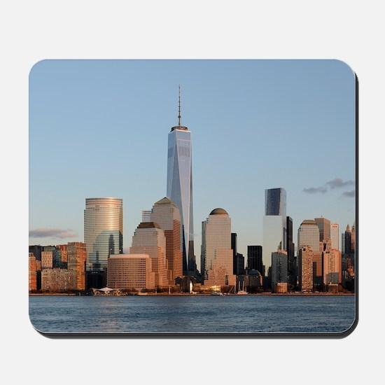 Lower Manhattan Skyline, New York City Mousepad