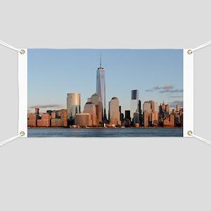 Lower Manhattan Skyline, New York City Banner