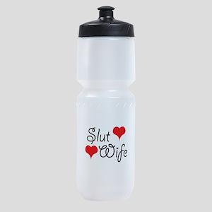Slut Wife Sports Bottle