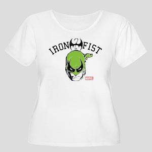 Iron Fist Hea Women's Plus Size Scoop Neck T-Shirt