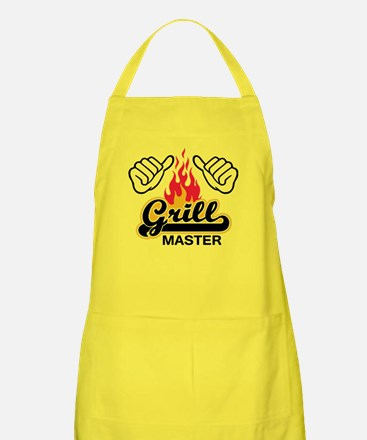 this guy is a grill master Apron