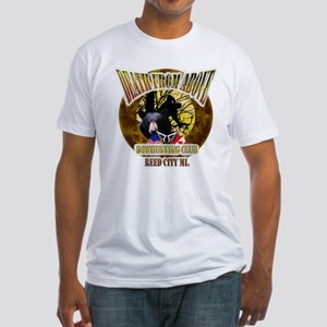 Death From Above Fitted T-Shirt