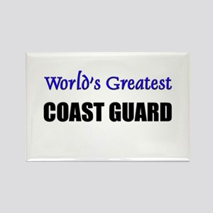 Worlds Greatest COAST GUARD Rectangle Magnet