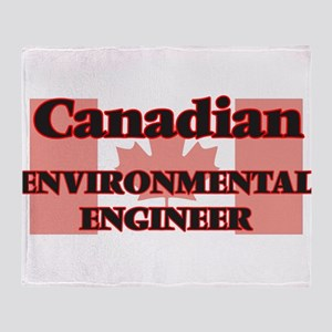 Canadian Environmental Engineer Throw Blanket