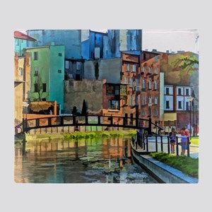 Reflections of Venice Throw Blanket