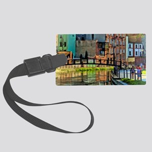 Reflections of Venice Large Luggage Tag
