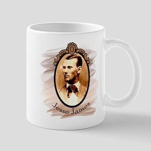 Jesse James Portrait Mug