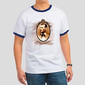 Jesse James Portrait Ringer T