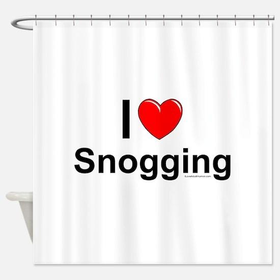 Snogging Shower Curtain
