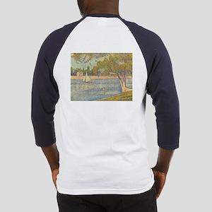 Seine at Grande Jatte by Seurat Baseball Jersey