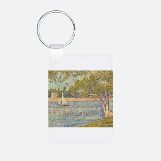 Seine at Grande Jatte by S Keychains