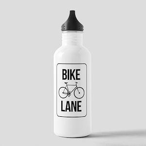 Bike Lane Stainless Water Bottle 1.0L
