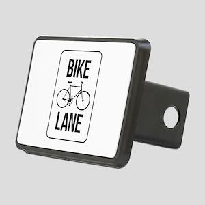 Bike Lane Rectangular Hitch Cover