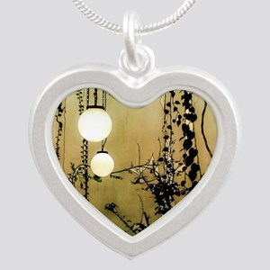 A Quiet Place Silver Heart Necklace