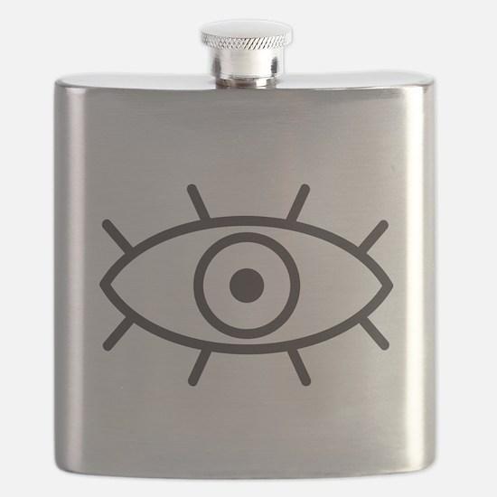 All Seeing Eye Flask