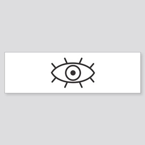 All Seeing Eye Bumper Sticker
