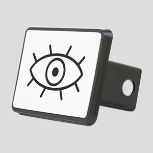 All Seeing Eye Rectangular Hitch Cover