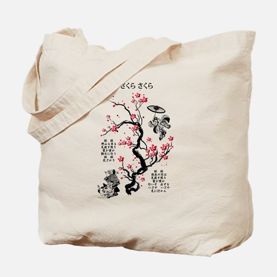 Sakura Sakura Tote Bag