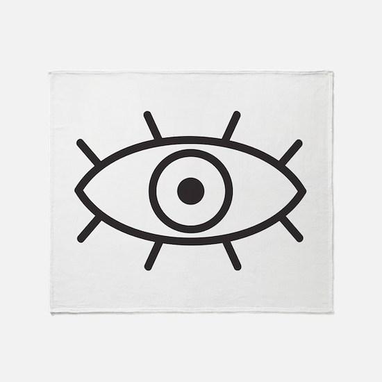 All Seeing Eye Throw Blanket