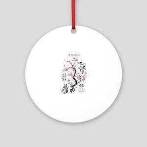 Sakura Sakura Round Ornament