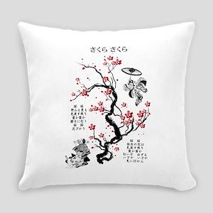 Sakura Sakura Everyday Pillow