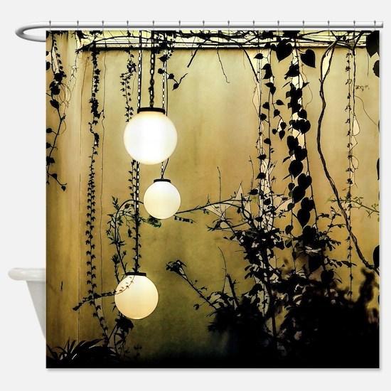A Quiet Place Shower Curtain