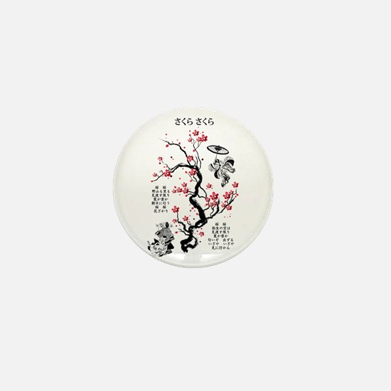 Sakura Sakura Mini Button