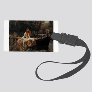 The Lady of Shalott by Waterhous Large Luggage Tag