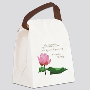 17th Karmapa Quote Canvas Lunch Bag