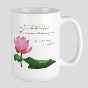 17th Karmapa Quote Large Mug
