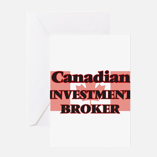 Canadian Investment Broker Greeting Cards