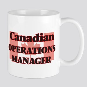 Canadian Operations Manager Mugs