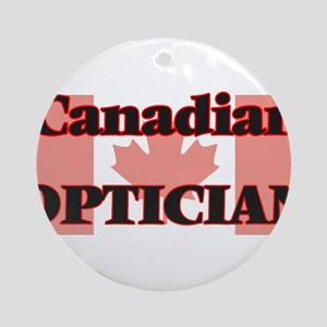 Canadian Optician Round Ornament