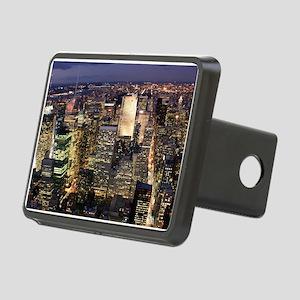 NEW YORK 1 Rectangular Hitch Cover