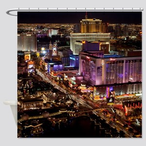 LAS VEGAS 2 Shower Curtain