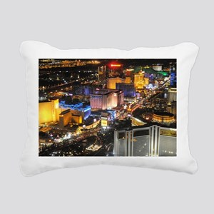 LAS VEGAS 1 Rectangular Canvas Pillow