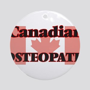 Canadian Osteopath Round Ornament