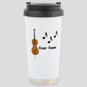 Cello Music Personalized Travel Mug