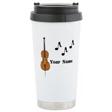 Cello Music Personalized Travel Mug